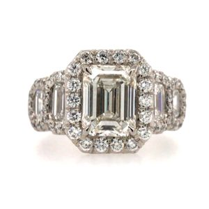 EMERALD CUT RINGS